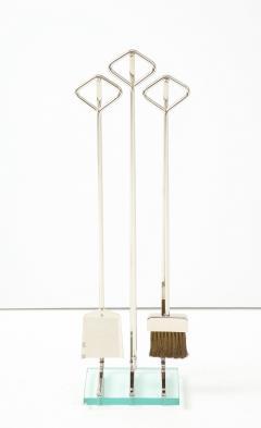Fontana Arte Fontana Arte Style Modernist Fire Tools - 1108785