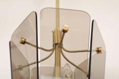Fontana Arte Fontana Arte Style Smoked Glass Pendant - 1446815