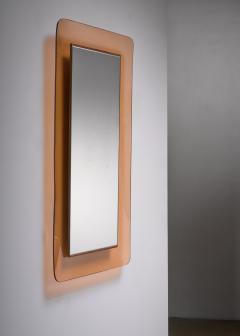 Fontana Arte Max Ingrand for Fontana Arte rectangular glass wall mirror - 1845413