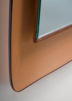 Fontana Arte Max Ingrand for Fontana Arte rectangular glass wall mirror - 1845414