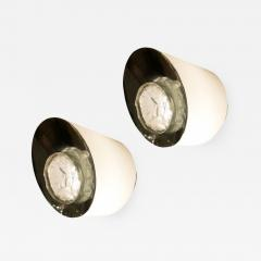 Fontana Arte Rare Pair of Fontana Arte Wall Lights Model 2466 - 1167696