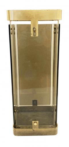 Fontana Arte Rectangular Fontana Arte Umbrella Stand with Smoked Glass - 1623230
