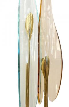 Fontana Arte Single Dalia Sconce by Max Ingrand for Fontana Arte - 2113660