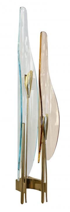 Fontana Arte Single Dalia Sconce by Max Ingrand for Fontana Arte - 2113661