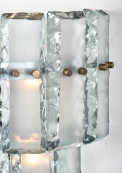 Fontana Arte Vintage Murano Glass Fontana Arte Sconces - 632377