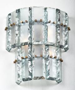 Fontana Arte Vintage Murano Glass Fontana Arte Sconces - 632378