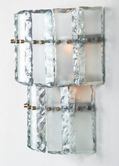 Fontana Arte Vintage Murano Glass Fontana Arte Sconces - 632379