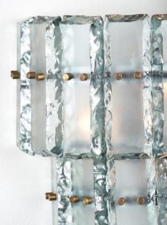 Fontana Arte Vintage Murano Glass Fontana Arte Sconces - 632380