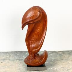Fork Art Carving of a Flamingo American - 1687452