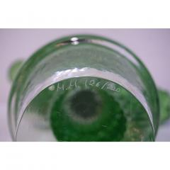 Formia Murano Formia Marta Marzotto Vintage Murano Glass Black Flower Cactus - 827774