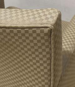 Four HBF Stamped Covered Upholstered Armchairs by Pace - 1305695