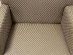 Four HBF Stamped Covered Upholstered Armchairs by Pace - 1305696