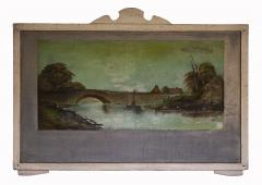 Four Hudson Valley Carousel Panels painted by Thomas Benjamin Pope - 1467682