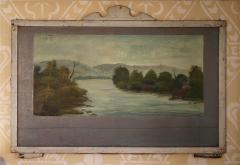 Four Hudson Valley Carousel Panels painted by Thomas Benjamin Pope - 1467683