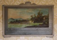 Four Hudson Valley Carousel Panels painted by Thomas Benjamin Pope - 1467684