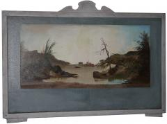 Four Hudson Valley Carousel Panels painted by Thomas Benjamin Pope - 1467685