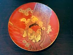 Four Japanese Lacquered Sake Cups Meiji Period - 1597983