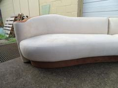 Four Piece Curved Serpentine Sectional Sofa Weiman - 1570715