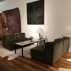 Four french 1960s modular sofa elements - 1467889