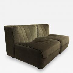 Four french 1960s modular sofa elements - 1468659