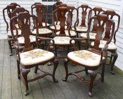 Fourteen American Queen Anne Revival Dining Chairs - 1464179