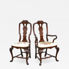 Fourteen American Queen Anne Revival Dining Chairs - 1464970