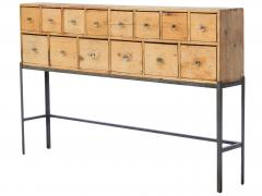Fourteen Drawer Pine Apothecary - 1699098