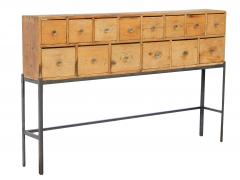 Fourteen Drawer Pine Apothecary - 1699100