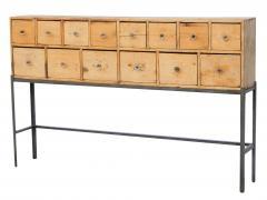 Fourteen Drawer Pine Apothecary - 1699101