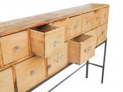 Fourteen Drawer Pine Apothecary - 1699105