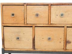 Fourteen Drawer Pine Apothecary - 1699106