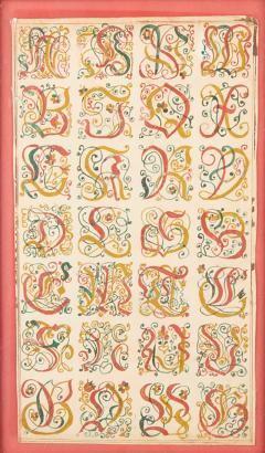 Fraktur Alphabet - 867140