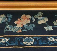 Framed Antique Chinese Embroidery Panel Qing Dynasty - 1569278