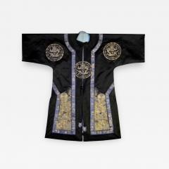Framed Antique Chinese Imperal Silk Robe - 784605