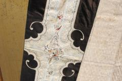 Framed Antique Chinese Skirt - 959777