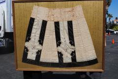 Framed Antique Chinese Skirt - 959778