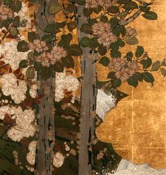 Framed Antique Japanese Landscape Painting Edo Period - 1119017