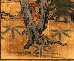 Framed Antique Japanese Landscape Painting Edo Period - 1119020