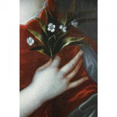Framed Charles II Oil on Canvas of a Noblewoman - 1532315
