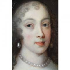 Framed Charles II Oil on Canvas of a Noblewoman - 1532317
