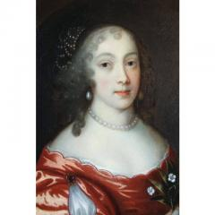 Framed Charles II Oil on Canvas of a Noblewoman - 1532342