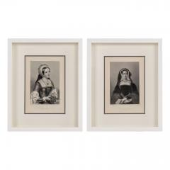 Framed Engravings of English Queens - 1549762