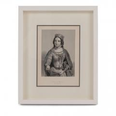 Framed Engravings of English Queens - 1549828