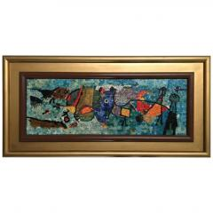 Framed Glass Mosaic - 1170798