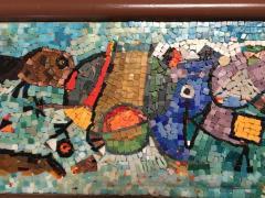 Framed Glass Mosaic - 1170799