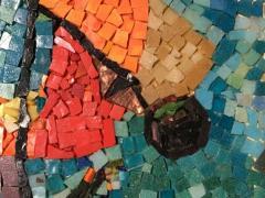 Framed Glass Mosaic - 1170801