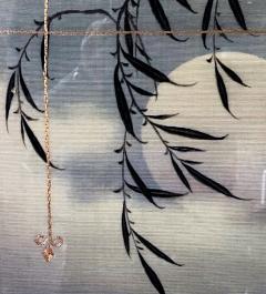 Framed Japanese Textile Art Meiji Period - 1776634