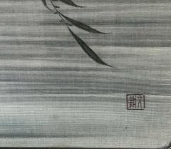 Framed Japanese Textile Art Meiji Period - 1776637