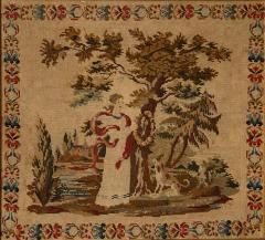 Framed Needlepoint England Circa 1830 - 1573164