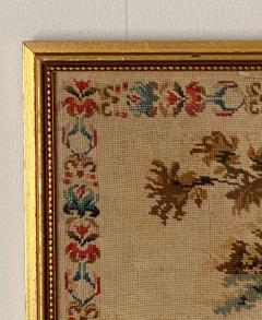 Framed Needlepoint England Circa 1830 - 1573167